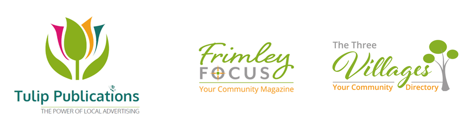Tulip Publications Frimley Focus and The Three Villages Logos