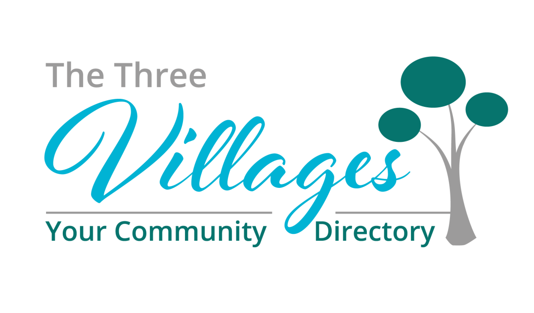 Logo: The Three Villages - Your Community Directory